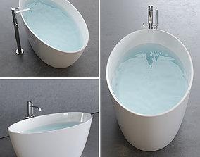 3D asset Disenia Lake Bathtub