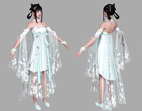 Beautiful Girl pant 3D model