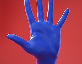 3D Male Hand 8 Neutral Pose