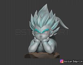 GotenKS Ghost version 03 from Dragon Ball Z 3D print model