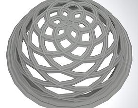 Concrete dome detail decorative traditional 3D model