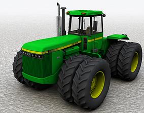 JOHN DEERE 8850 4WD Tractor 1985 3D