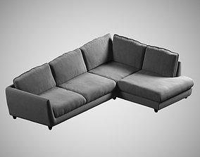 quality sofa 05 3D model