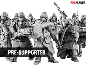 Death Squad Grenadiers of the Imperial 3D printable model