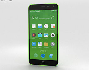 Meizu M1 Note Green 3D