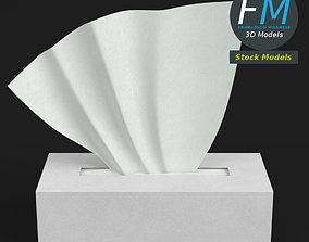 3D PBR Tissue box