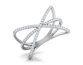 3D print model Criss Cross Ring