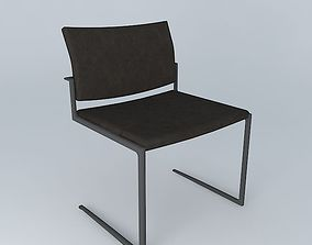 3D model Holly Hunt Shadow Dining Chair