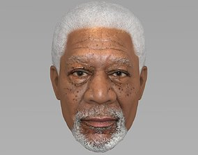 3D Morgan Freeman