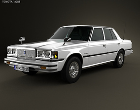Toyota Crown sedan 1979 3D