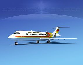 3D Douglas DC-9-30 Aero California