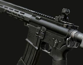 3D model realtime AR-15