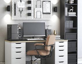 3D model Office workplace 75