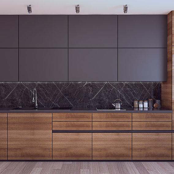 Modern style kitchen design