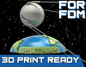 3D printable model Sputnik - 1 for FDM