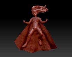 strong girl 3D printable model