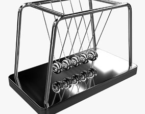 3D model Newton Cradle