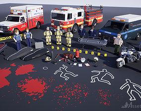 Assetsville 911 First Responders 3D model