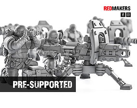Alpha troops - Heavy Support Squad of 3D printable model 2