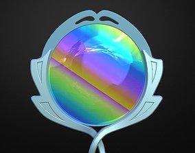 Mirror Gem - Steven Universe - Lapis Lazuli 3D print model