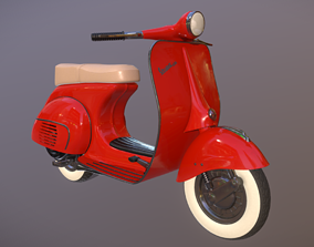 3D model vespa 150