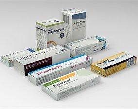 3D asset game-ready Medicine Pack