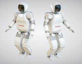 Asimo Robot 3D asset