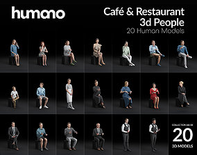 Humano 20-Collection 06 - CAFE RESTAURANT- 20 x 3D