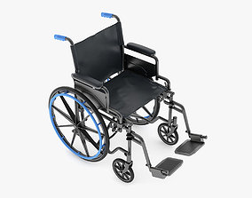 Medical Wheelchair 3D model