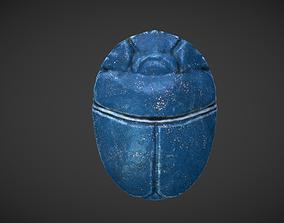 3D asset Scarab amulet