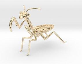 Praying Mantis 3D print model