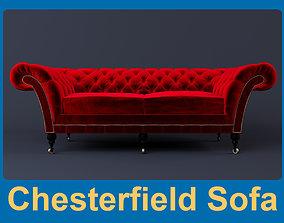 Chesterfield Sofa 3D model design