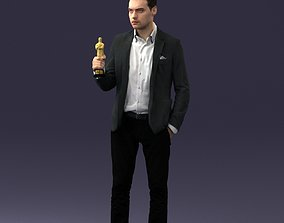 man with award 0524 3d print ready