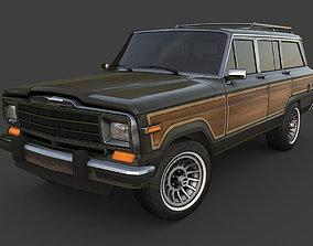 3D model Jeep Wagoneer