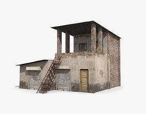 slum f 3D asset