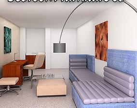 Bedroom Furniture 08 Set 3D asset