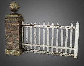 3D model Outdoor Gate 05 - GFS - PBR Game Ready