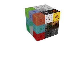 3D Print of Menger Sponge - level 3 mathematical