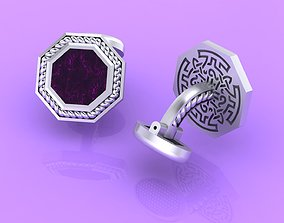 3D printable model Creative Cufflinks with pigtails