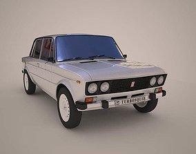 3D model Vaz 2106 Russian Car