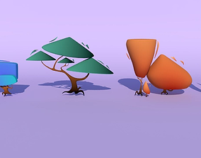 Trees for the game 3D