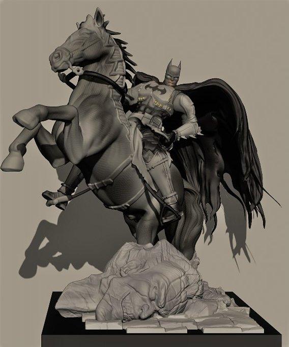 first batman horse
