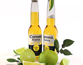 3D model Corona Extra beer