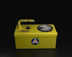 Geiger Counter 3D Model