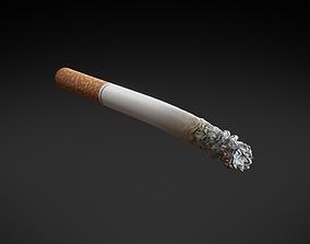 3D model PBR Generic Cigarette Burning