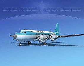 3D Douglas DC-4 Buffalo Airlines