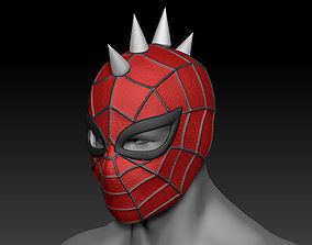 Spider Punk Mask 3D print model