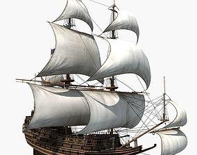3D model Sailboat wartick