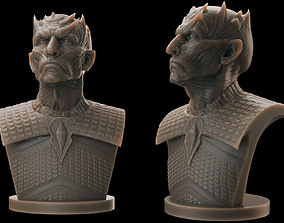 Night King Bust 2- Game of Thrones 3D print model
