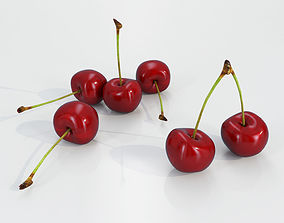 3D asset Cherry Fruit
